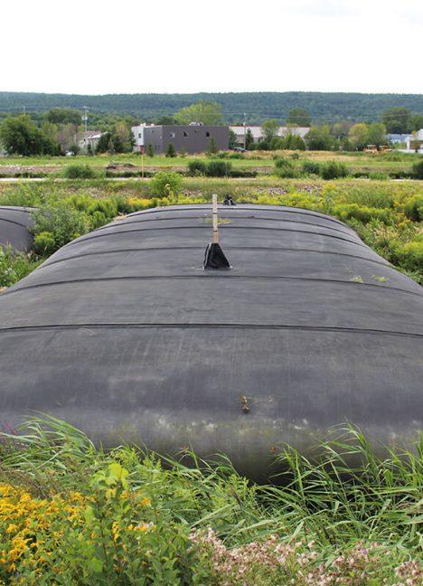 Sac de déshydratation pour les boues - Traitements des eaux - Environnement - Produit de Terraquavie Envionnement & Géosynthétique - Manufacturier de solutions environnementales pour la construction, le génie civil, le génie minier et l'industrie