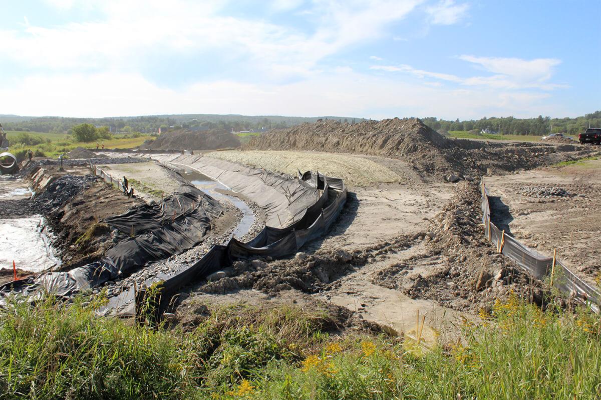 Toiles de recouvrement temporaire - Réduction de l'exposition des sols mis à nu - Environnement - Terraquavie Environnement & Geosynthétiques