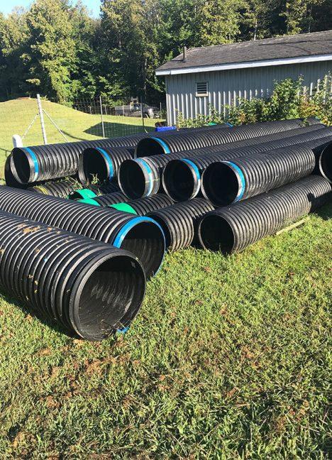 Ponceaux de polyéthylène haute densité (PEHD) et de tôle ondulée galvanisée (TOG) - Drainage, canalisation et dérivation de cours d'eau - Environnement - Produit de Terraquavie Envionnement & Géosynthétique - Manufacturier de solutions environnementales pour la construction, le génie civil, le génie minier et l'industrie